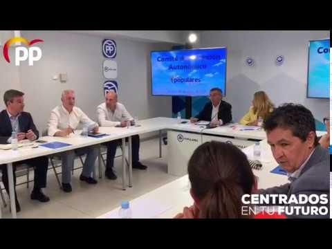 Comité de dirección del PP tras el #26M