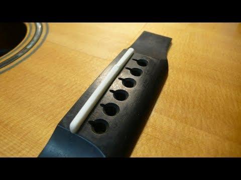 Bob Colosi Custom Guitar Saddle Review