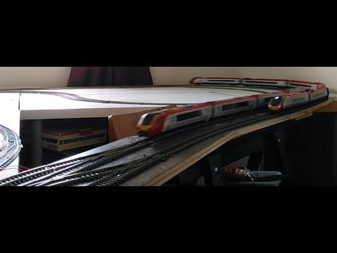 Virgin West Coast in OO- 2002: Hornby Pendolino, Bachmann Voyager and Class 158