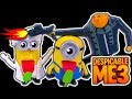 Despicable Me 3 Dark Side Knock Off Toys Minions Don't Like Flamethrower