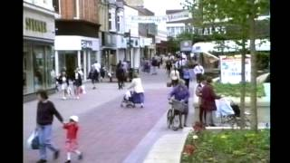 Bedford United Kingdom  City new picture : Bedford UK Town Centre 1996