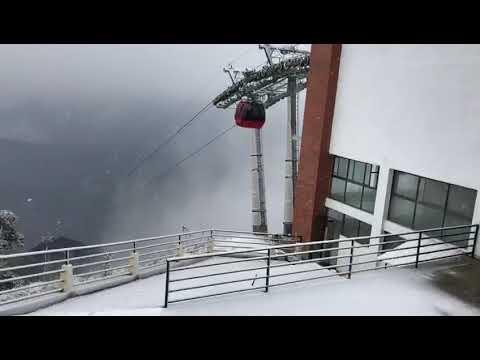 (Snow Fall at Chandrgiri Hills Kathmandu Nepal...30 sec.)