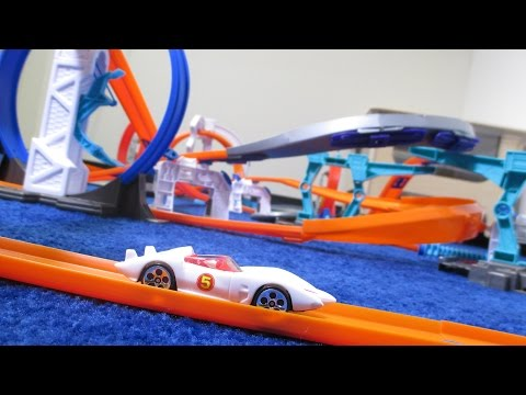 Track Time! Speed Racer Racing Competition with Mach 5, Racer X and more!