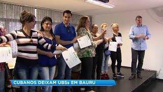 Médicos cubanos se desligam do Programa Mais Médicos em Bauru