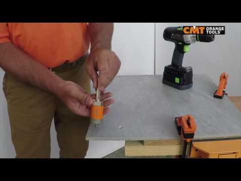 CMT sega a tazza foratura gres