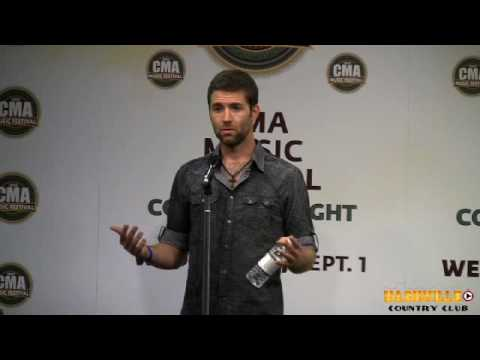 Josh Turner Interview at CMA Fest 2010
