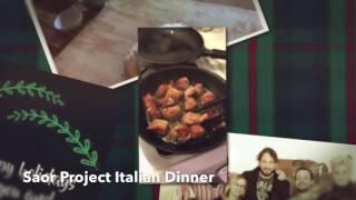 November 27th Italian Dinner