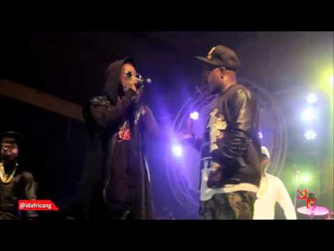 Choc Boys, M.I, Ice Prince, Jesse Jagz at Felabration 2015 with 7UP