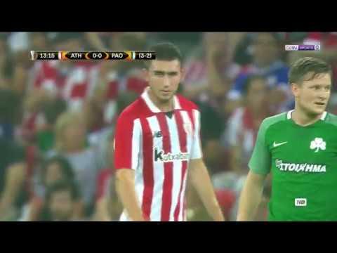 Athletic Bilbao 1-0 Panathinaikos - All Goals & Highlights - Europa League [HD]