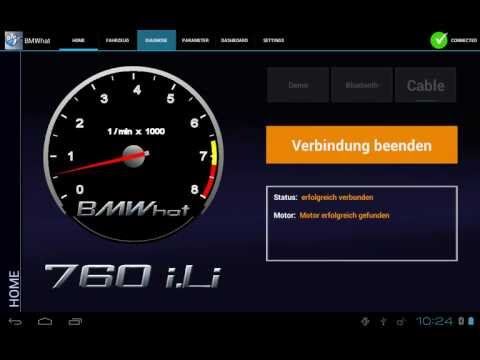 Video of iViNi app for BMW - BMWhat