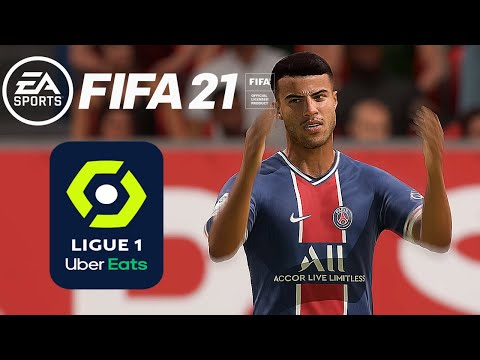 Paris Saint-Germain vs Dijon FCO | Ligue 1 | 24 Octobre 2020 | FIFA 21