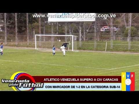 CIV Caracas vs Atlético Venezuela Sub-14