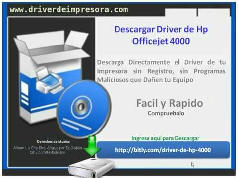 Descargar Driver de Hp Officejet 4000