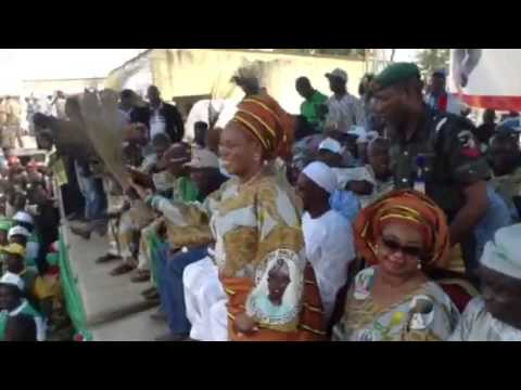 Recognition of the wife of Osun Governor Alhaja Sherifat Ar