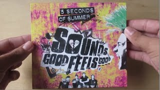 Sounds Good Feels Good - Album Deluxe Edition - 5 Seconds Of Summer - Unboxing Cd en Español