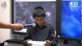 Niños y niñas meteorólogos por un día