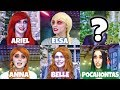 DISNEY PRINCESS ZOMBIES AFTER HALLOWEEN VISIT TO ZOMBIETOWN (Totally TV)