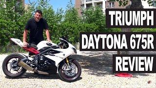 7. Triumph Daytona 675R Motorcycle Review
