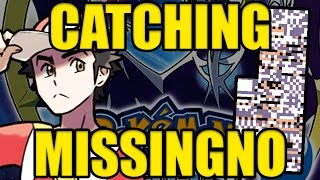 Catching Missingno For Pokemon Sun and Moon! by Verlisify