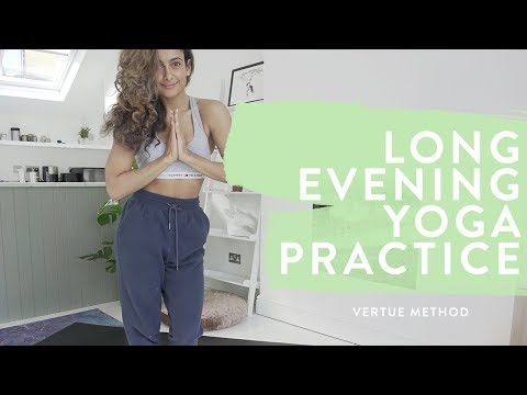 RELAXING NIGHT TIME YOGA SESSION | 45 MINUTE | FULL SEQUENCE | Shona Vertue