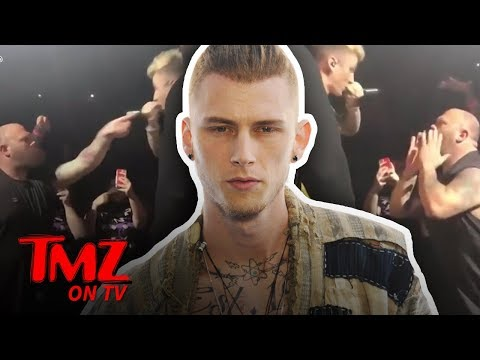 Machine Gun Kelly Fights Another Fan, Staged?! | TMZ TV