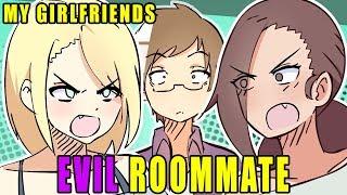 Video My Girlfriends EVIL ROOMMATE! | Animated Story Time MP3, 3GP, MP4, WEBM, AVI, FLV Agustus 2018