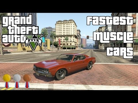 Gta Muscle Cars Muscle Cars in Gta v