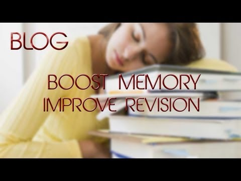 BOOST MEMORY BLOG!  Techniques on how to improve and boost memory for revision/exams!