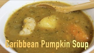 For the complete Caribbean Pumpkin Soup recipe click here http://www.caribsunsations.com and become a member of our ...