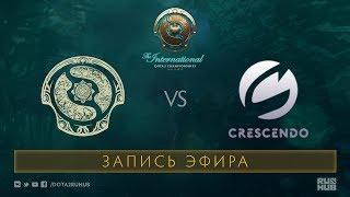 Cool Beans vs Crescendo, The International 2017 Qualifiers [Mortalez]