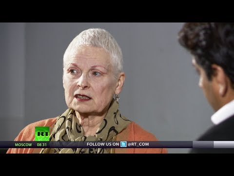 'Never Trust the Govt!' - Vivienne Westwood on Fracking, Banks, Austerity