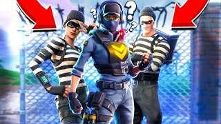 COPS AND ROBBERS *NEW* GAMEMODE IN Fortnite Battle Royale