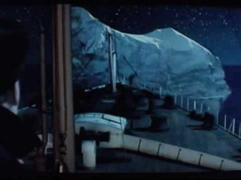 titanic - iceberg collision