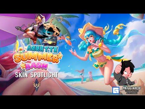 Arena of valor | Skin Spotlight Annette -  Summer Bash