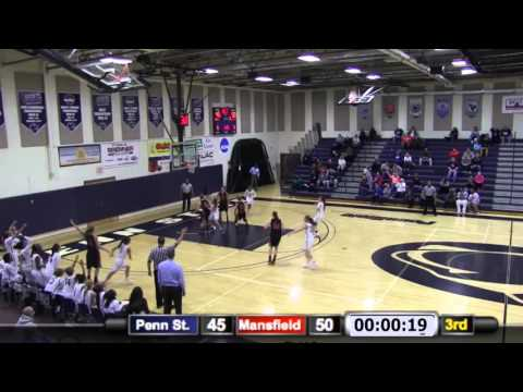 WBB: Penn State Harrisburg vs. Mansfield Highlights