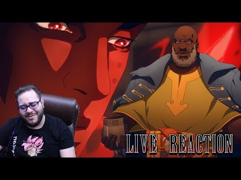 ISAAC AND CAPTAINS DEBATE ON HUMANITY! - CASTLEVANIA SEASON 3 EPISODE 2 & 3 LIVE REACTIONS