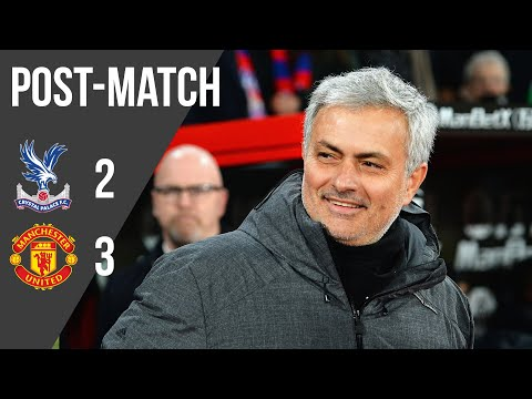 Crystal Palace v Manchester United: Mourinho happy with 'remarkable comeback' win - Thời lượng: 5:57.