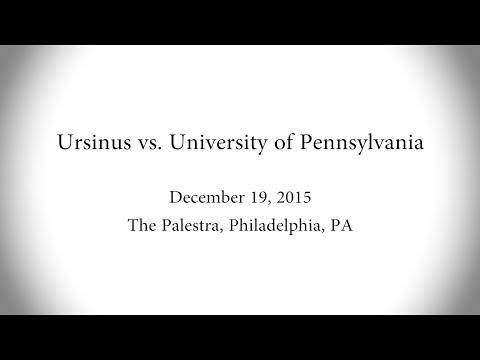Ursinus Men's Basketball vs  University of Pennsylvania