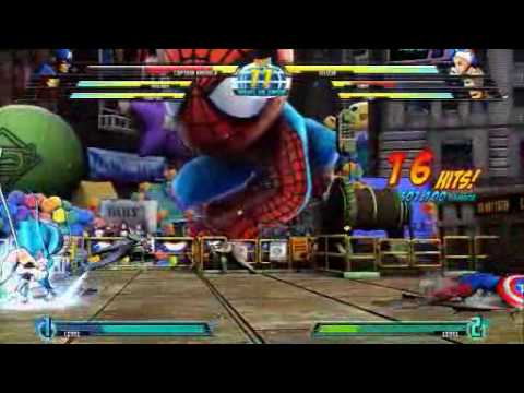 Marvel vs Capcom 3 battle gameplay trailer
