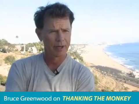 "Star Trek's Bruce Greenwood talks about ""Thanking the Monkey: Rethinking the Way We Treat Animals."""