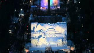 北海道観光映像(さっぽろ雪まつり)