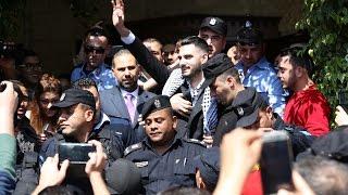 استقبال حافل وحاشد لمحبوب العرب يعقوب شاهين بأريحا