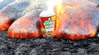Lava Meets A Can Of Chef Boyardee