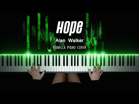 Alan Walker - Hope | Piano Cover by Pianella Piano