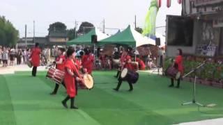 羽黒H28夏祭り1・犬山和太鼓クラブ響