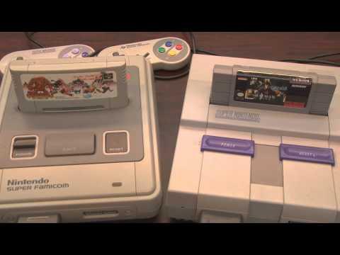 Classic Game Room - NINTENDO SUPER FAMICOM Console Review