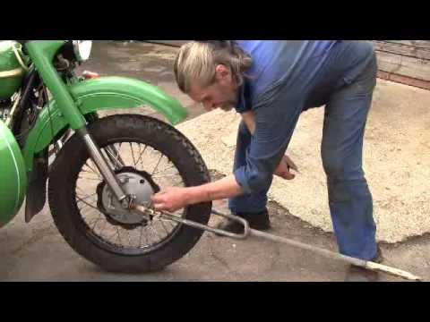 Буксировка мотоцикла с коляской