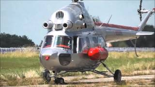 Footage of a russian Mil Mi-2 Helicopter landing for a Presentation-Even in Giebelstadt Germany at the former US Military Airbase on June 22nd 2013. Filmed w...