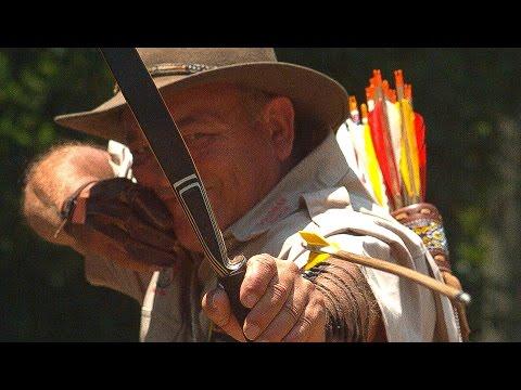 Střílení z luku ve zpomaleném záběru