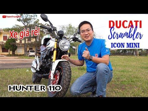 Xe Moto mini giá rẻ Ducati Scrambler Icon Mini 110cc ▶ Đánh giá và Trải nghiệm - Thời lượng: 15:05.